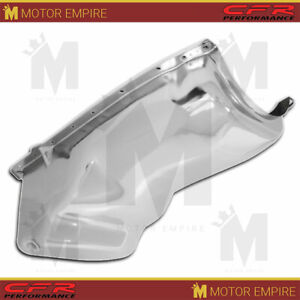 Fits 1964 1980 Oldsmobile 330 350 400 425 455 Engine Oil Pan Chrome W Rear Sump