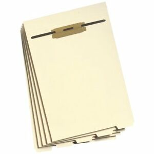 Smead 35600 Manila Folder Dividers With Fastener Letter 8 50 X 11 0 50