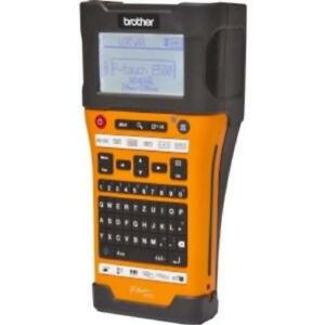 Brother Industrial Handheld Labeling Tool W Auto Cutter Computer Connectivity