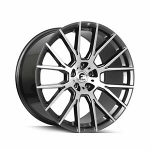 24 Forgiato Flow 001 Grey Forged Concave Wheels Rims Fit Land Rover Range Rover