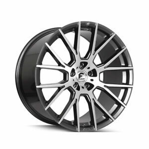 24 Forgiato Flow 001 Grey Forged Concave Wheels Rims Fit Benz G500 550 55 63 65