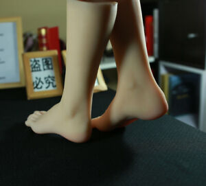 New Luxury 1pair Women s Realistic Silicone Soft Female Mannequin Foot Model 36t