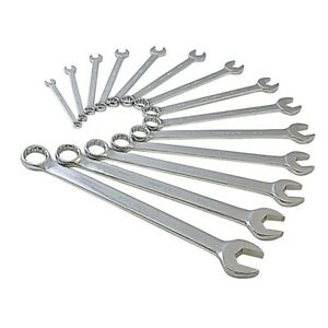 14 Piece V groove Sae Combination Wrench Set Sunex Tools Sun9915