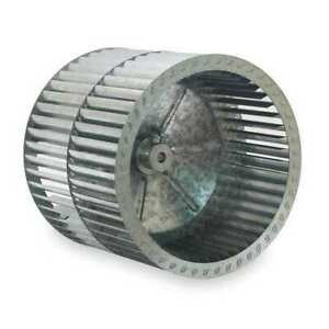 Dayton 2utt9 Blower Wheel dia 9 7 16 In bore 1 2 In