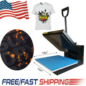 Heat Press Machine Transfer 15x15 Digital Board For T shirt Plate Sublimate Us