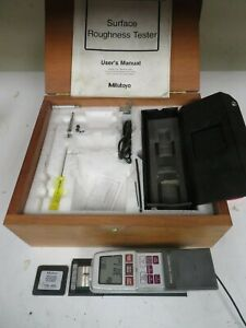 Mitutoyo Sj 201p Profilometer Surface Roughness Tester Kit W Case Nm24
