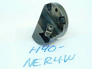 Used Kennametal Carbide Insert Indexable Interchangeable Boring Head H40 ner4w