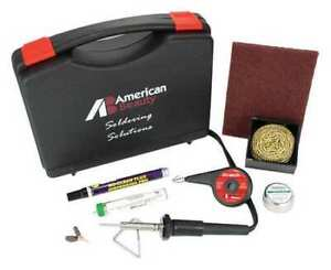 American Beauty Psk25 Soldering Kit 25w iron Plated Copper Tip