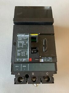 Square D Hja Hja36050 Circuit Breaker 50a 50 Amp 3p 600v new No Box