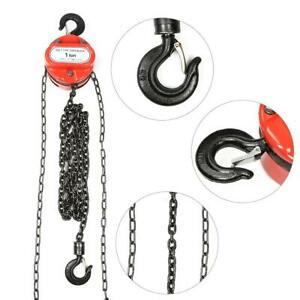 1 Ton Chain Puller Block Fall Chain Hoist Hand Tools Lifting Chain For Workshop