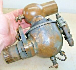 1 1 2 Schebler Carburetor With Throttle Old Car Tractor Gas Hit And Miss Engine