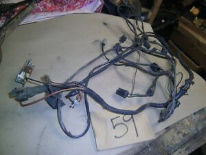 1964 1965 Chevelle Malibu El Camino Nice Underhood Headlight Wire Wiring Harness
