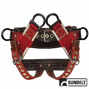 Saddle Weaver 4 dee Extra Wide Back 2 Nylon Straps Large