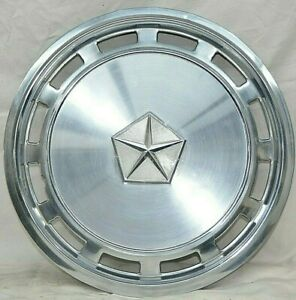 Chrysler Plymouth Dodge Hubcap 1982 1988 14 Wheel Cover Oem Used