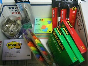 Lot Of Office And Or School Supplies all New Items