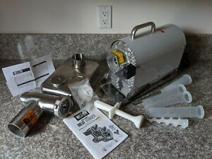 Weston Pro 550 12 08 1201 w Commercial Electric Meat Grinder
