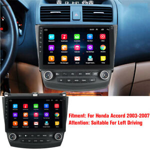 10 1 Hd Android 9 1 Car Stereo Radio Gps Wifi 3g 4g For Honda Accord 2003 2007