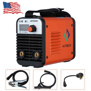 Dual Volt Arc Welding Machine Rod Stick 110 220v Inverter Welder At2000 Hitbox