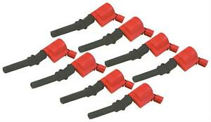 Msd Ignition Coils Blaster Coil Pack Square Epoxy Red Ford Lincoln 4 6l 5 4l