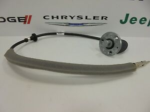 97 06 Jeep Wrangler New Antenna Base Cable With Bracket Mopar Factory Oem