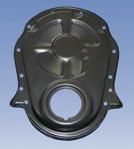 Milodon Timing Cover 1 piece Steel Black Chevy Big Block Each 65604