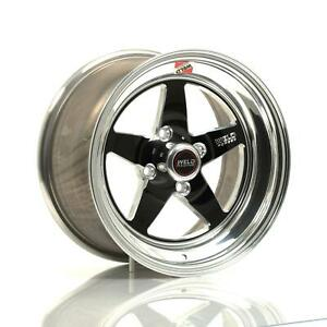 Weld Racing Rt s S71 Forged Aluminum Black Anodized Wheel 71lb 508p55c