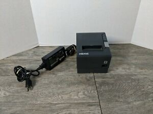 Epson Tm t88v M244a Thermal Receipt Printer W ps 180 Power Supply Rs 232
