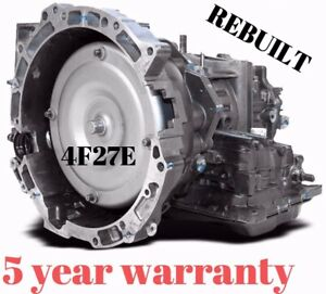 Reman Transmission 4f27e 4 speed Automatic Fit Transit Connect Ford Focus