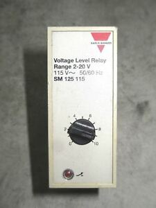 Carlo Gavazzi Sm12511520 Voltage Level Relay