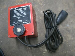 Snap On Tools Mt 403 Carbon Pile Load Battery Tester