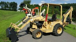 2007 Terramite T7 Tractor With Loader And Backhoe