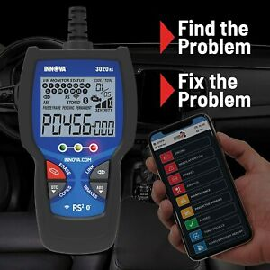 Innova 3020d Scanner Diagnostic Scan Tool Code Reader Obd2 Abs Emissions Check