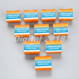 10 Rolls 50mm 20m Thermal Printing Paper For Ecg ekg Machine Patient Monitor