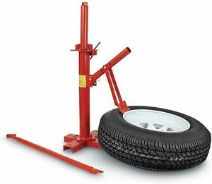 Tire Changers Lifter Wheel Balancers Truck Trailer Manual Tire Machine Red
