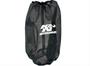 K N Rc 4780dk Air Filter Wrap Drycharger Polyester Black Conical Each