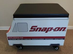 Snap On Tools Creeper Seat Cabinet Storage Roll Around New Awesome