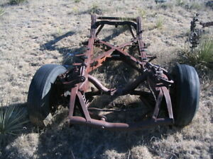 55 56 57 1955 1956 1957 Thunderbird T Bird Frame Chassis Appears To Be Straight