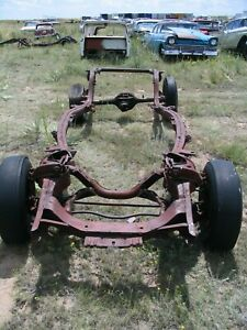 57 1957 Ford Custom Frame Narrow 9 9 Inch Axle With Paper