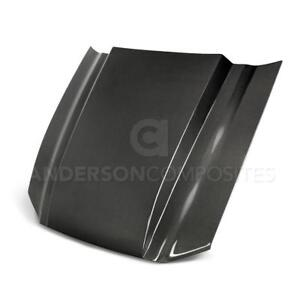 Anderson Composites Carbon Fiber type cj Cowl Hood For 2013 2014 Ford Mustang
