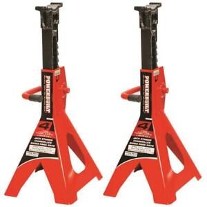 Jack Stand 4 ton Capacity Steel Red 20 250 Ext Height 13 000 Collapsed Height