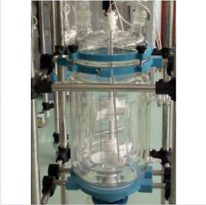 1 Jacketed Vessel Of 10l Chemical Laboratory Jacket Glass Reactor