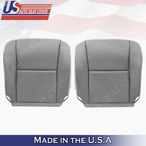 Fits 2005 2006 Toyota Tundra Sequoia Bottoms Leather Seat Cover Gray Lb 11