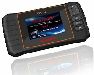 Icarsoft Vag Ii For Volkswagen Vw Audi Seat Skoda Obd2 Diagnostic Scanner