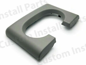 Center Console Dual Cup Holder Replacement Pad Light Grey Gray Fits Ford F150
