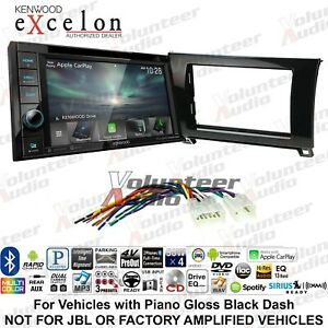 Kenwood Ddx5706s Double Din Car Radio Stereo Dash Install Kit