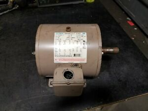 Ao Smith 3 Hp Electric Ac Motor 230 460 Vac 1745 Rpm S182t Frame 3 Phase