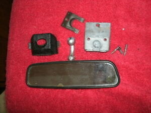 1972 1973 Day night Rear View Mirror And All Mounts Black Cover