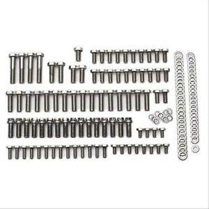 Summit Racing Engine Bolts Stainless Polished Hex Head Summit Logo Bbc Kit