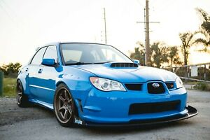 Battle Aero Wide Body Kit For 06 07 Subaru Impreza Wrx Sti