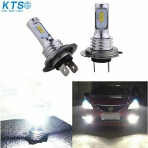 H7 Led Headlight Bulbs Kit High Low Beam 35w 4000lm Super Bright 6000k White Us